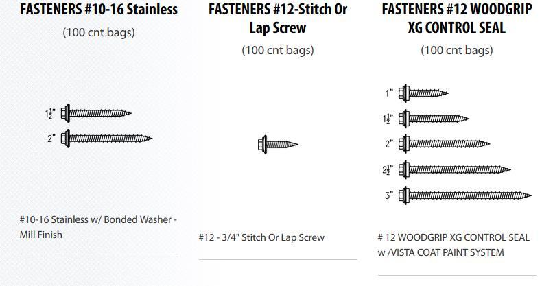 Steel Sales Inc Weatheredge Accessories